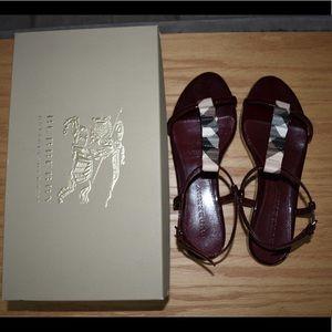 Classic Burberry Sandals